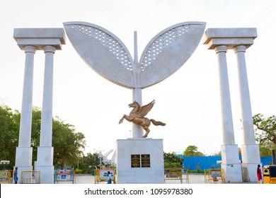 22 May, 2018 : MGR Samadhi \ MGR Memorial in chennai, India