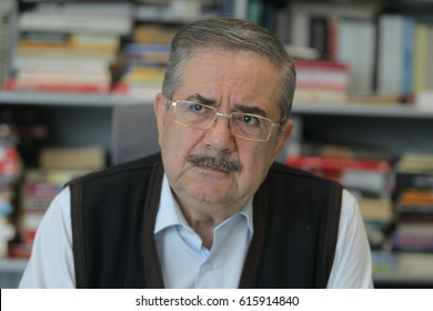 22 October 2015. Istanbul, Turkey. Taha Akyol is a Turkish journalist and writer of Abkhazian descent.