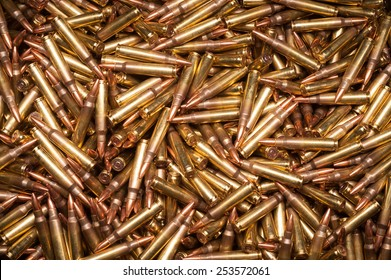 .223 or 5.56 x 45 xm193 ammunition