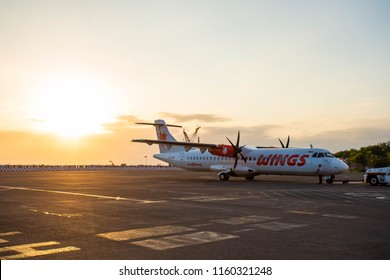 22nd June, 2018 : Wings Air ATR 72-600 PK-WHO at BALI airport, Indonesia.