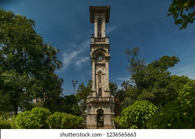 22-Oct-2004- David Sassoon Clock Tower, Jijamata Udyan (Zoo), Byculla, Mumbai - India asia