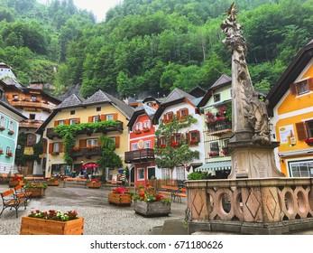 23 JUNE 2017: Hallstatt, Austria