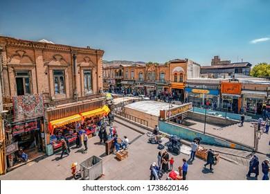 23/05/2019 Tabriz, East Azerbaijan Province, Iran Traditional Iranian Bazaar