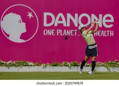 23.07.2021 The Amundi Evian Championship, Evian Golf Resort, Evian Les Bains, France. Ayaka Furue (JPN)