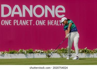 23.07.2021 The Amundi Evian Championship, Evian Golf Resort, Evian Les Bains, France. Tsubasa Kajitani (JPN)