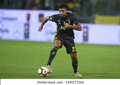 23.09.2018. Stadio Matusa, Frosinone, Italy. SERIE A:  EMRE CAN in action during the ITALIAN SERIE A match between FROSINONE CALCIO v FC JUVENTUS at Matusa Stadium in Frosinone.