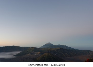 At 2,392 meters tall, Mt Bromo is not among the tallest of Indonesia's mountains but its stunning beauty lies in its incredible setting. Bromo Tengger Semeru National Park.