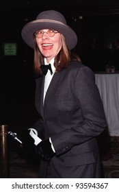 23APR98:  Actress DIANE KEATON at the National Conference of Christians & Jews Humanitarian Award dinner honoring Viacom chairman Sumner Redstone.