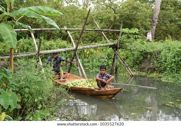 23oct2017 1100 Natural Beauty Bangladesh Famous Stock Photo