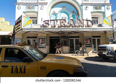 24 December 2018 - Key West, Florida, USA. Former Strand theater house, now a Walgreens drugstore.