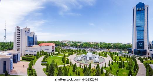 24 may 2017 , Uzbekistan , Tashkent, National bank of foreign economic activities,affairs of Uzbekistan,the Intercontinental Tashkent hotel