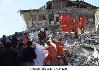 24 October 2011. Van, Turkey. The 2011 Van earthquakes occurred in eastern Turkey near the city of Van.
