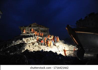 24 October 2011. Van, Turkey. The 2011 Van earthquakes occurred in eastern Turkey near the city of Van.