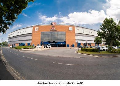 24/07/2019 Wigan, Greater Manchester, UK The DW Stadium is a sports stadium in Wigan, Greater Manchester, England. The ground is owned and managed by Wigan Football Company