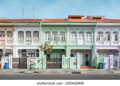 24/3/18 Peranakan Houses at Joo Chiat & Katong, Singapore