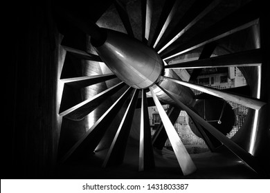 The 24ft low speed Wind Tunnel built in 1917 Farnborough, Used to test areodynamic properties of War Time planes which including the Hawker Hurricane