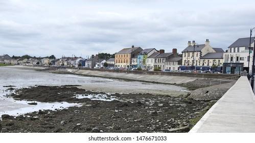 24th July 2019, Dundalk, Ireland. Blackrock promenade in Dundalk, County Louth along the local beach.