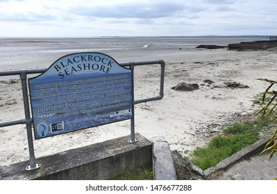 24th July 2019, Dundalk, Ireland. Entrance to Blackrock beach in Dundalk, County Louth.
