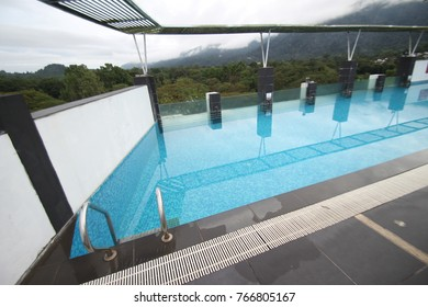 24th November 2017 : Swimming pool at Flemington Hotel, Taiping, Malaysia