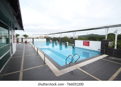 24th November 2017 : Swimmingpool at Flemington Hotel, Taiping, Malaysia