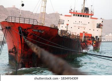 25 August 2013 - Oil tanker (Champion 1), Mukalla city, Hadhramaout, South Yemen.