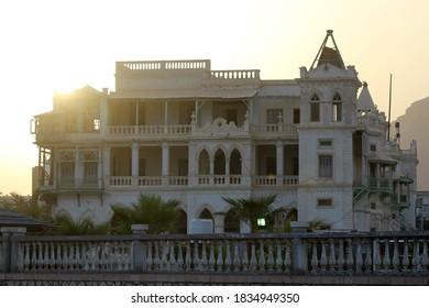 25 August 2013 - Sultan Al-Quaiti Palace in Al-Mukalla, Hadhramaout, Sout Yemen.