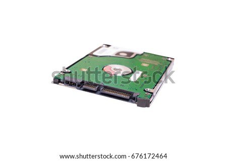 25 Inch Laptop Sata Hard Drive Stock Photo Edit Now 676172464