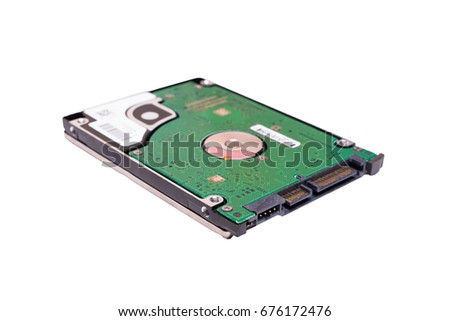 25 Inch Laptop Sata Hard Drive Stock Photo Edit Now 676172476