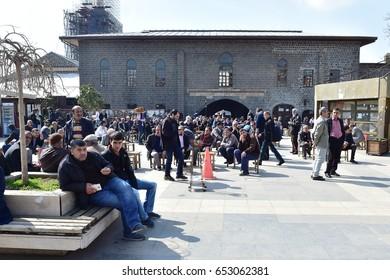 25 March 2016, Diyarbakir, Turkey. Diyarbakir daily life