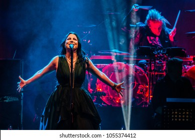 25 MARCH 2018, AFAS Live, Amsterdam. Concert of Evanescence