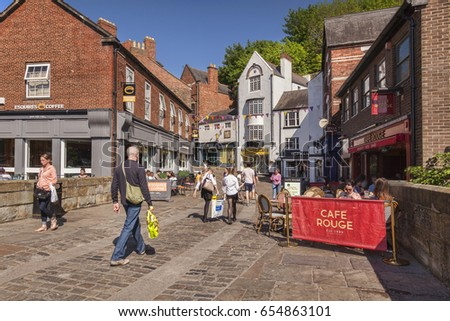 25 May 2017 Shoppers Silver Street Stock Photo Edit Now 654863101