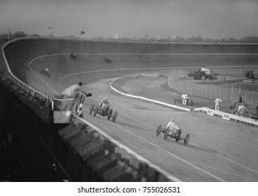 The 250 mile Baltimore - Washington Speedway race, Laurel, Maryland, Oct 26, 1925.