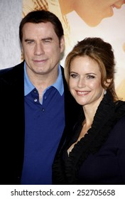 "25/03/2010 - Hollywood - John Travolta and Kelly Preston at the World Premiere of ""The Last Song"" held at the ArcLight Cinemas in Hollywood, California, United States."