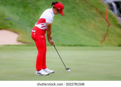 25.07.2021 The Amundi Evian Championship, Evian Golf Resort, Evian Les Bains, France. Tsubasa Kajitani (JPN)
