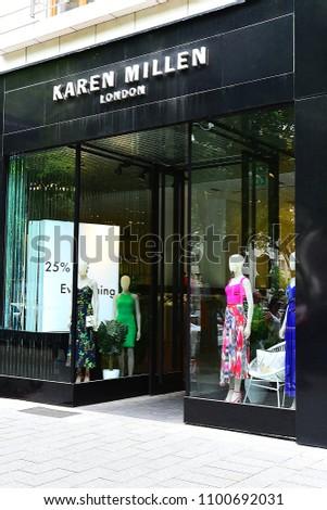 9e5df5f6c2 252018 KAREN MILLEN Fashion Store Stock Photo (Edit Now) 1100692031 ...