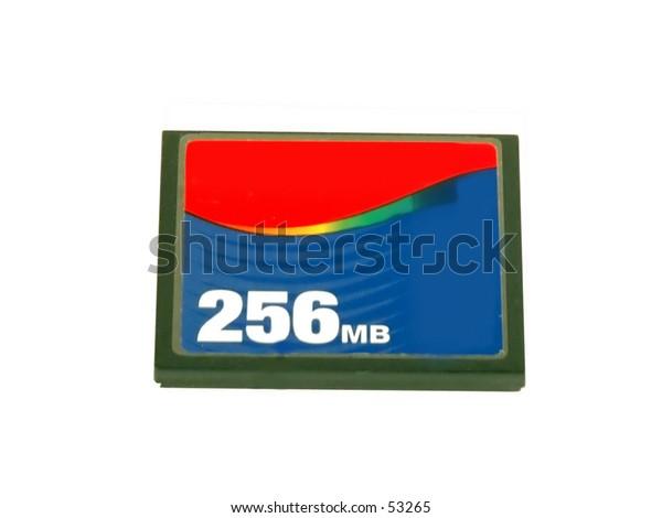256 MB compact flash card