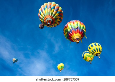 25th Sonoma County Hot Air Balloon Classic on June 20, California.