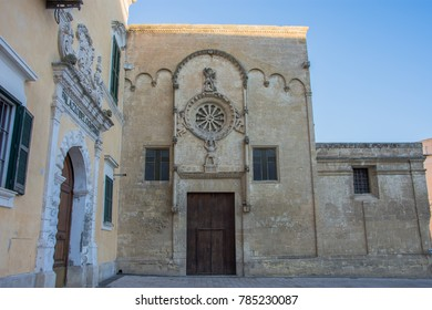 25th-26th December 2017. Matera. Italy. Church of Saint Domenicus.