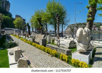 26 Apr 2018 Amasra archaeology museum. Amasra,Turkey