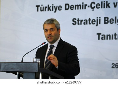 26 December 2012. Istanbul, Turkey. Nihat Ergun is a Turkish politician and the former Minister of Science, Industry and Technology.