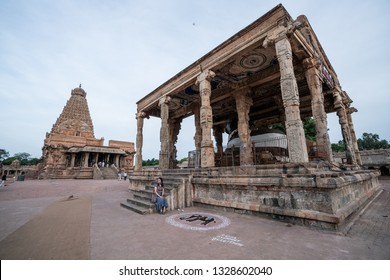 26 JUL 18 : Brihadeeswara Temple or Big Temple in Thanjavur, Tamil Nadu -South India