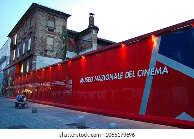 26 june 2013-turin-italy-seat of the national museum of cinema in turin,italy