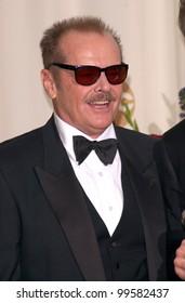 26MAR2000:  Actor JACK NICHOLSON at the 72nd Academy Awards.  Paul Smith / Featureflash