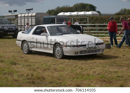 b1ecd884e83d 26th August 2017- A Toyota Supra in the vintage vehicle parade at a country  show
