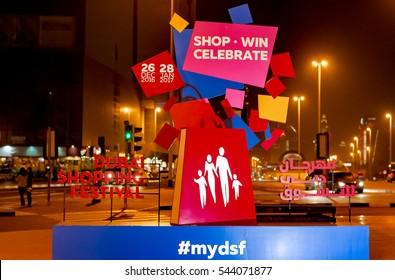 Dubai Shopping Festival Images, Stock Photos & Vectors