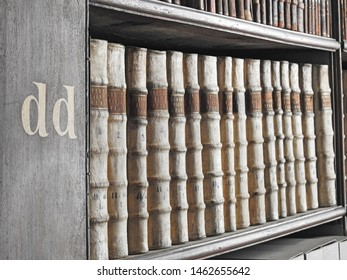 26th July 2019, Dublin. The Long Room of the Old Library at Trinity College Dublin, is the largest library in Ireland, home to The Book of Kells and houses 200,000 old and very rare books.