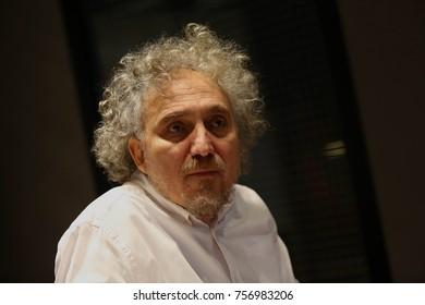 27 January 2016. Istanbul, Turkey. Yuksel Aksu is director, screenwriter, actor.