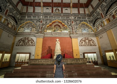 27 Jul 18 : Maratha Palace is a Art museum Gallery in Thanjavur, Tamil Nadu - South India