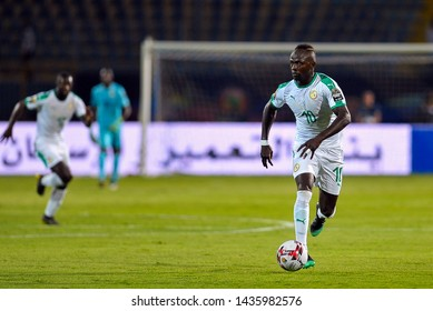 27 June 2019, Egypt, Cairo: Sadio Mani leads the Senegal team's attack in the African Cup of Nations 2019 African Nations Cup Group C match between Senegal and Algeria on June 30th.