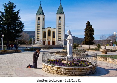 27 march-medjugorje-bosnia-Catholics Church in Medjugorje